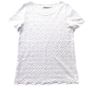 Madewell • Hi-Line Crochet Lace Top